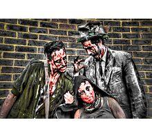 Three Zombies Photographic Print