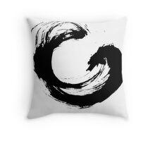 Enso 3 Throw Pillow