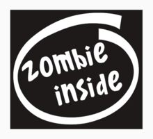 Zombie Inside - Walking Spoof Dead Funny by sturgils
