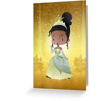 Tiana Greeting Card
