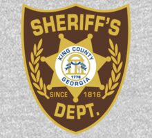 King County Sheriff Dept - Shane's Tee by thehorror
