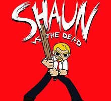 Shaun vs. the Dead by huckblade