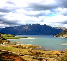 Lake Hawea New Zealand by jwwallace