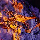 Bright Ichthyosaur by Copperoxide