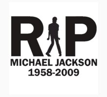 RIP Micheal Jackson Sticker by vincepro76