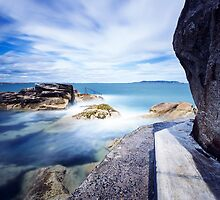 Forty Foot, Dún Laoghaire, Ireland by Alessio Michelini
