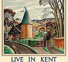 Live In Kent And Be Content by Bridgeman Art Library