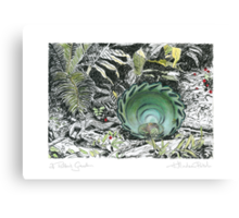A Potter's Garden (No.1)  Canvas Print