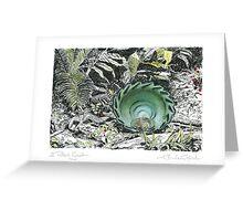 A Potter's Garden (No.1)  Greeting Card