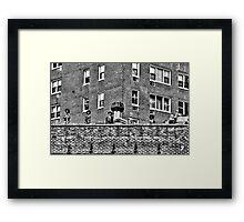 Skeletons in New York City, USA Framed Print