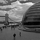 Tower Bridge & City Hall, London by JMChown