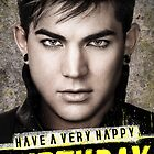 CUSTOMISABLE Adam Lambert (Trespassing): Happy Birthday by Eleclya