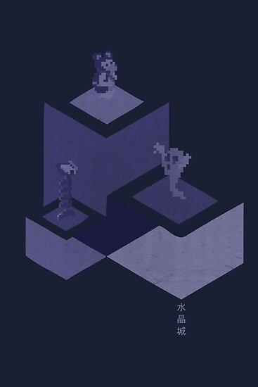 Crystal Castles by slippytee