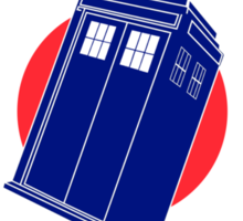 Doctor Who - TARDIS Mod Target Sticker