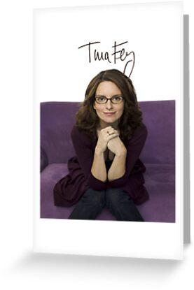 Tina Fey photo + Signature by joshgranovsky