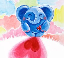 Me And My Heart - Rondy the Elephant In Love by oksancia