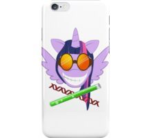 Pr. Sparkle's Laboratory - with text, & white phone case iPhone Case/Skin