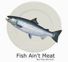Fish Ain't Meat Shirt by TheRandomRino