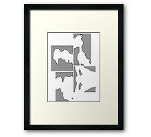 Cowboy Bebop Panels Framed Print