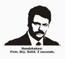 Ron Swanson - Handshakes by trevorbrayall