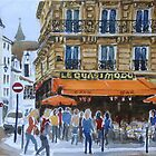 Le Quasimodo Cafe, Paris by Virginia  Coghill