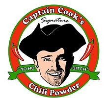 Captain Cook's Chili P! by Harry Martin