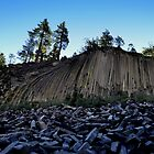 Devil's Post Pile by Bob Moore
