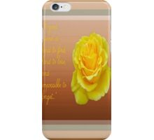 A Good Friend Is Hard To Find and Hard To Lose Greeting Card iPhone Case/Skin