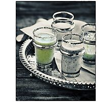Cucumber Shooter Photographic Print