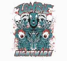 Zombie nightmare by tshirt-factory