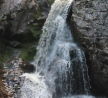 Waterfall in the river Øksna at Korpreiret, the largets canyon in northern Europe. Hedmark, Norway. by UpNorthPhoto