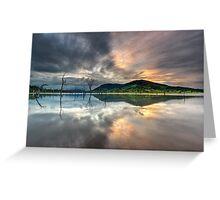 """Shangri-La"" ∞ Lake Somerset, QLD - Australia Greeting Card"