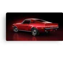 Shelby GT500 - Redline Canvas Print