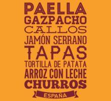 Spanish Food by MuralDecal