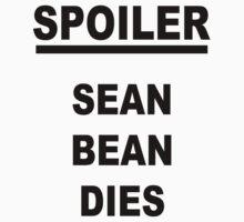 Spoiler Sean Bean Dies Kids Clothes