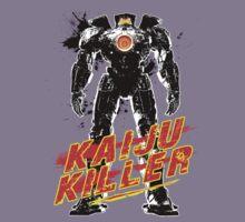 Kaiju Killer Black Kids Clothes