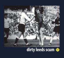 Dirty Leeds Scum: Bremner & Mackay by KenDeMange