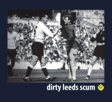 Dirty Leeds Scum: Bremner & Mackay by KenDeMange