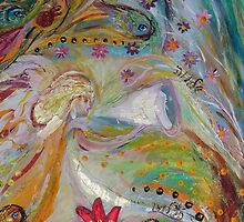 Original painting fragment 17 by Elena Kotliarker