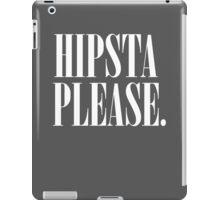 Hipsta Please. iPad Case/Skin