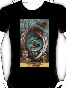 The Wheel of Fate: Circus Tarot by Duck Soup Productions T-Shirt