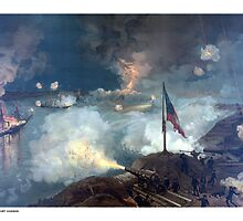 Battle of Port Hudson -- Civil War  by warishellstore