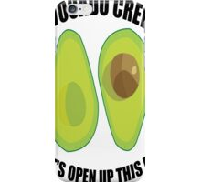 Avocado Crew iPhone Case/Skin