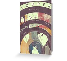 Looper (Variant Poster) Greeting Card
