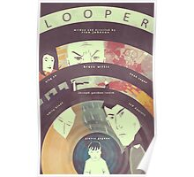 Looper (Variant Poster) Poster