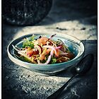 Oriental Tomato-Herb-Salad by pther