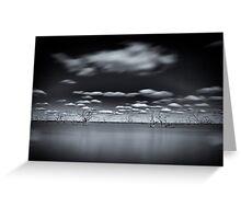 Surreal - Lake Pinaroo, NSW Greeting Card
