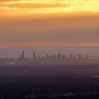 Melbourne (city in a bubble) by Louise Delahunty