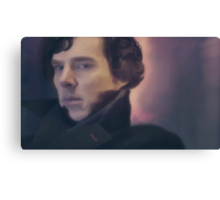Sherlock Holmes. Canvas Print
