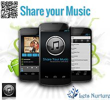 Share Your Music by LetsNurture